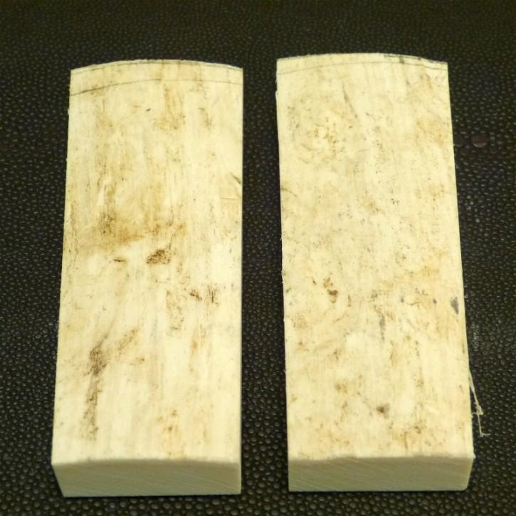 Schalenpaar ca. 98x30-36x7,5-12,5mm