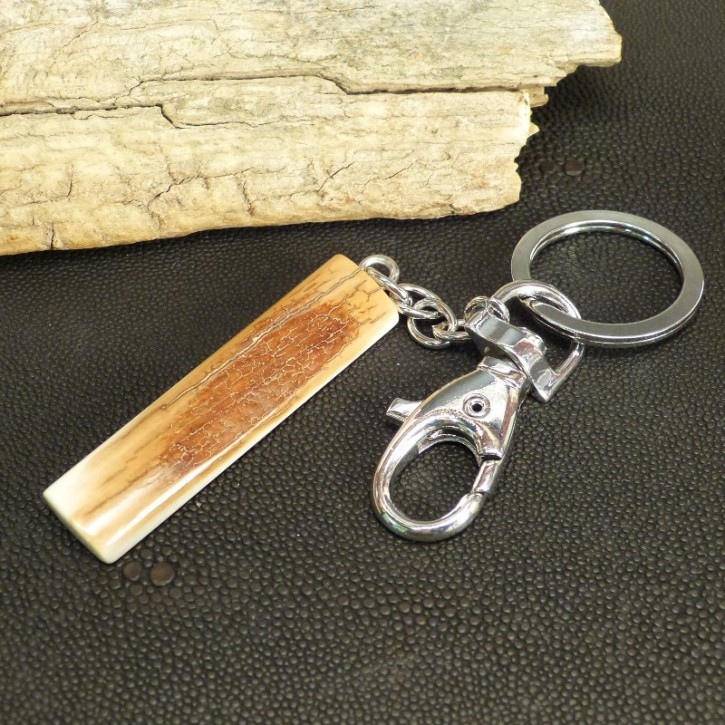 Mammut-Schlüsselanhänger mit toller Rindenfärbung
