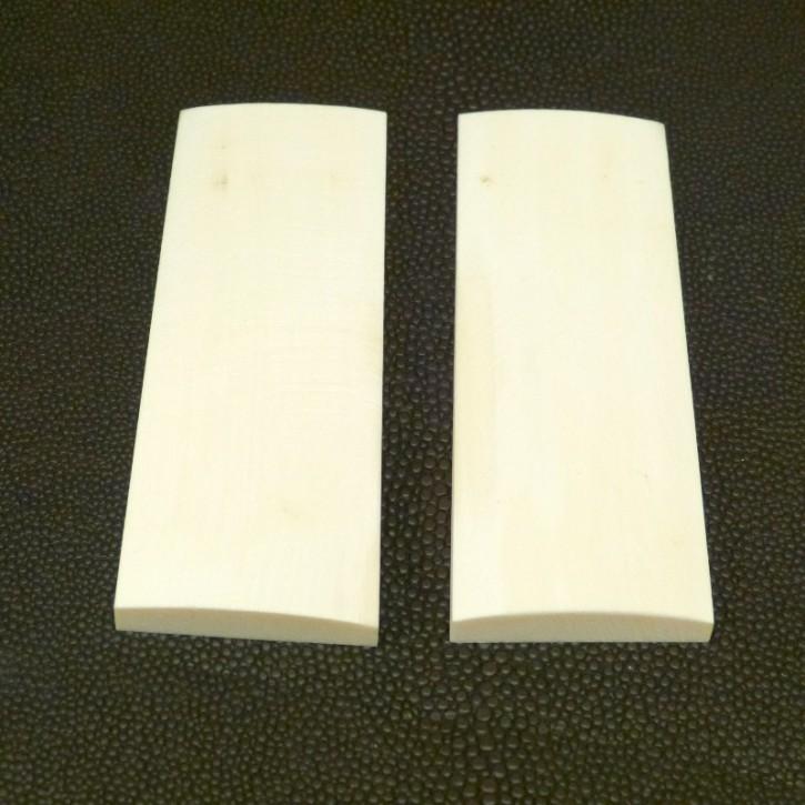 Schalenpaar ca. 82 x 30 bis 28,5 x 6,5 -3,5mm