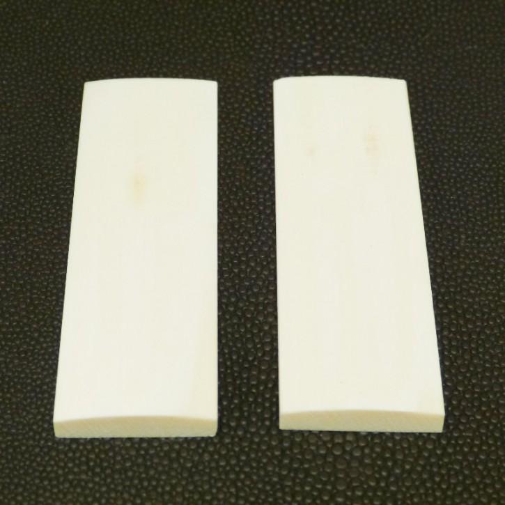 Schalenpaar ca. 69 x 24 - 22,5 x 6 - 3mm