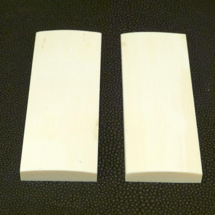 Schalenpaar ca. 80 x 28,5 x 6,8 - 3,6mm