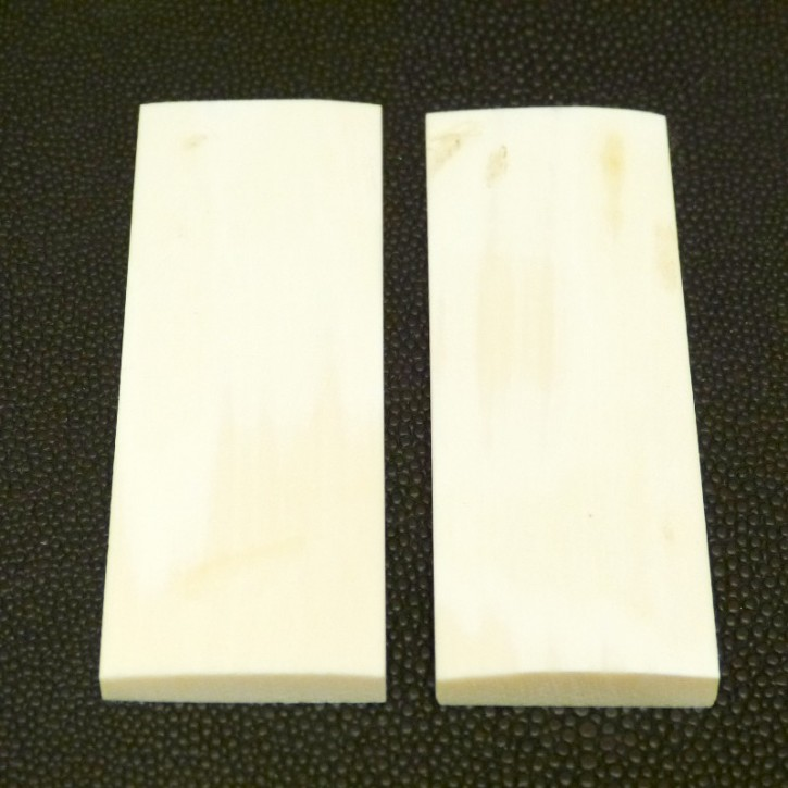 Schalenpaar ca. 77 x 27 x 6,3 - 3mm