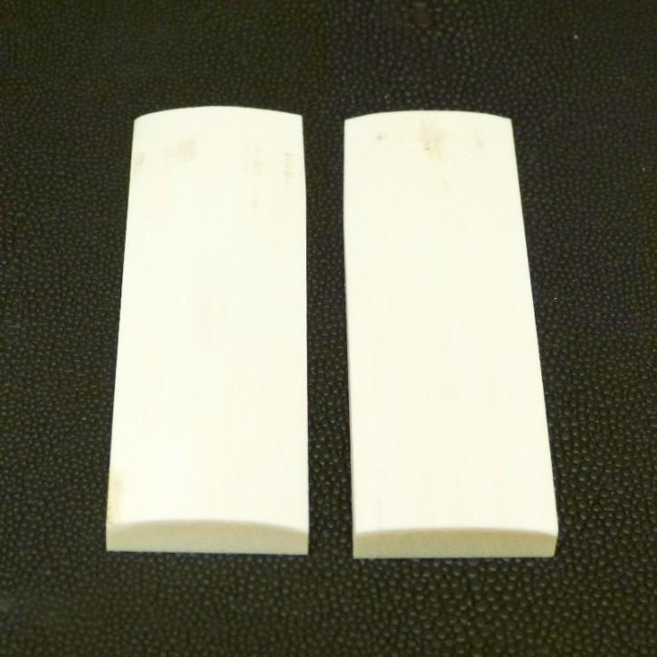 Schalenpaar ca. 87,5 x 26,5 x 6,8 - 3,6mm