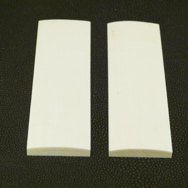 Schalenpaar ca. 92 x 27 x 5,7 - 3,2mm