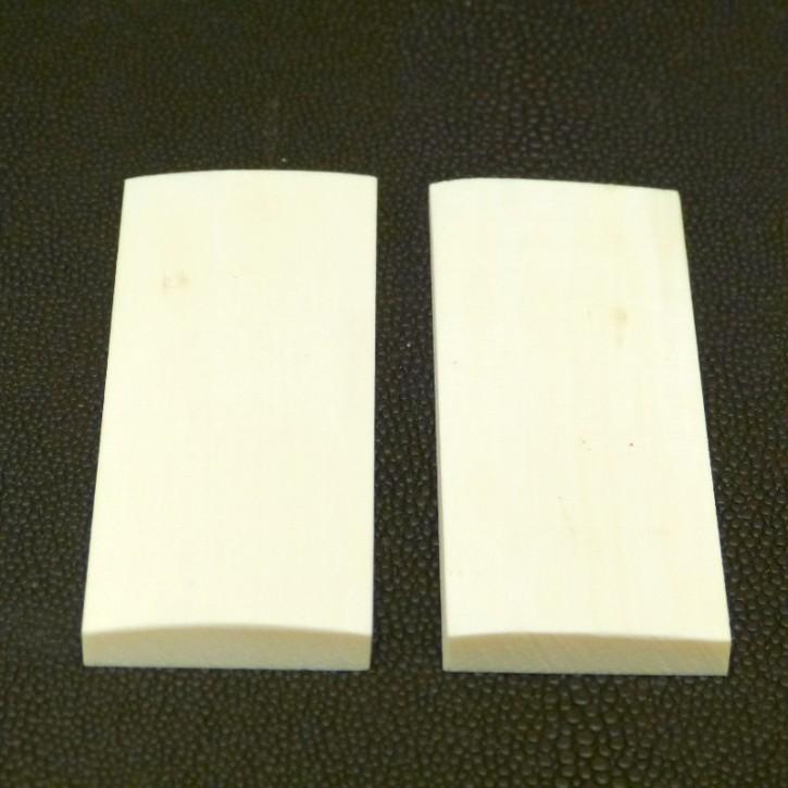 Schalenpaar ca. 77 x 29 x 6,3 - 3mm