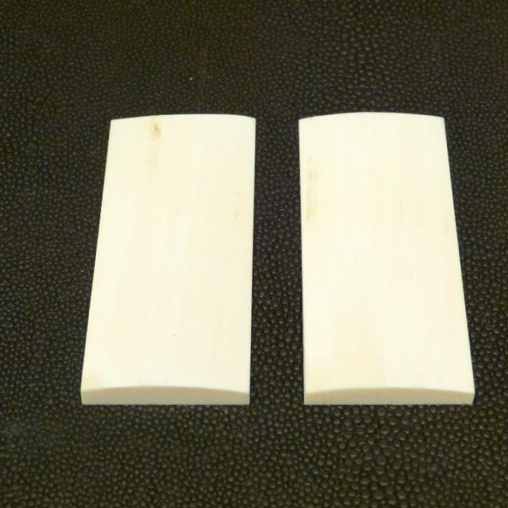 Schalenpaar ca. 63,5 x 28 x 5,7 - 3,2mm
