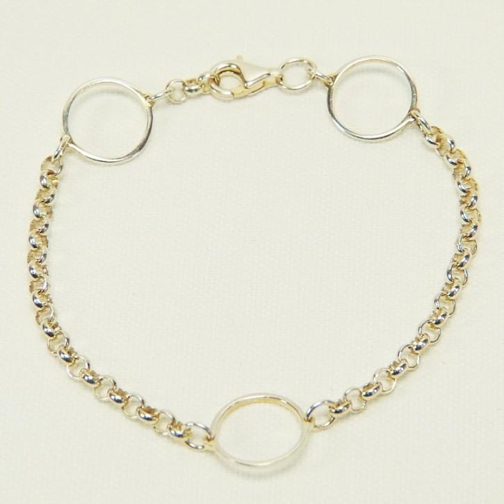 zartes Armband 925/-er Silber