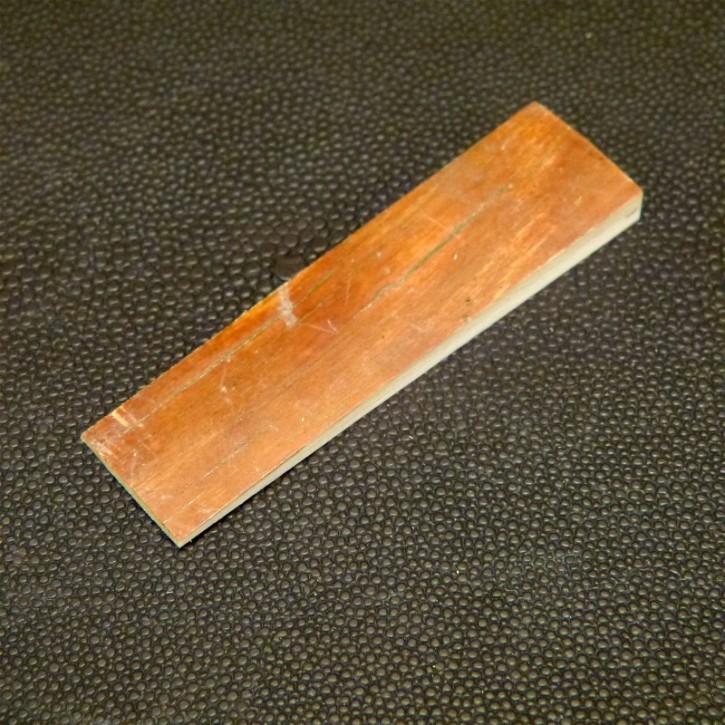 Mammut-Platte mit Rinde ca. 68x18,2x6,2-2mm