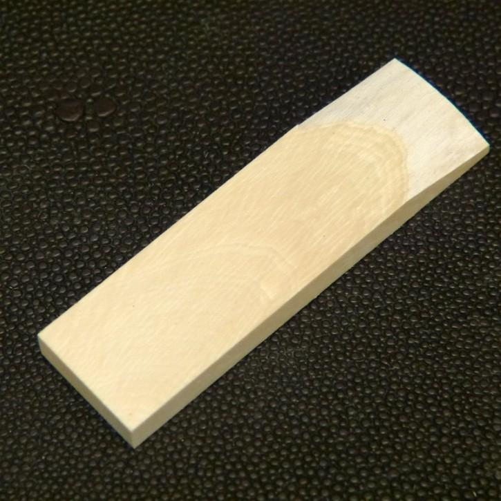 Mammut-Platte cremig ca. 63,5 x 18 x 5,6 mm