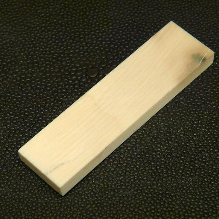 Mammut-Platte cremig ca. 66,5 x 18 x 6mm