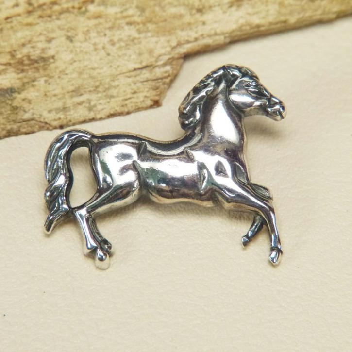 """Anstecknadel """"Pferd"""" 925/-"""