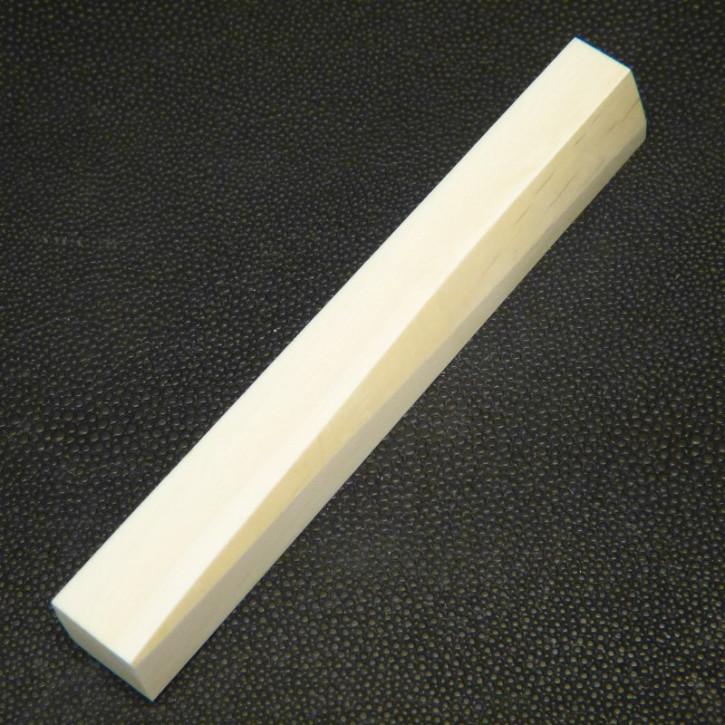 Zuschnitt/Pen Blank ca. 115 x 14,8 x 14,8 bis 14,8 x 13,5 mm