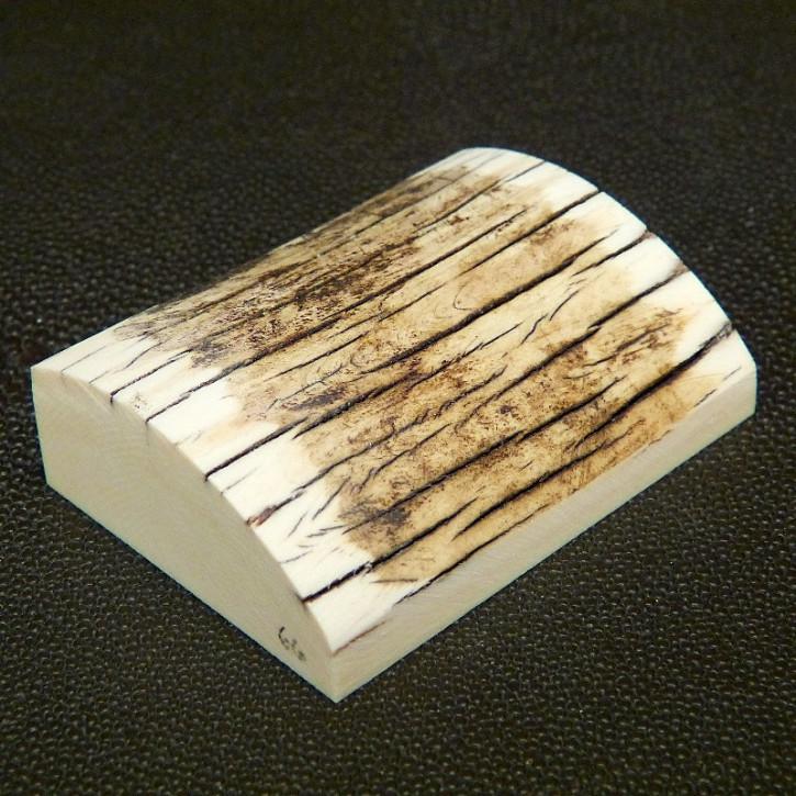 Schalstück mit gewölbter Oberfläche ca. 58 x 43 x 17,5mm