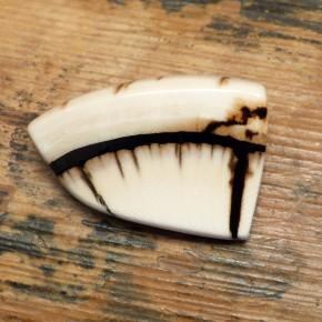 Brosche Mammut-Elfenbein