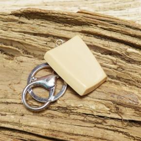 Schlüsselanhänger Mammut-Elfenbein