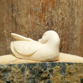 Ente aus Mammutelfenbein