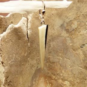 einzelner Mammut-Ohrhänger schlank