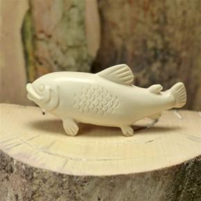 Fisch aus Mammut-Elfenbein