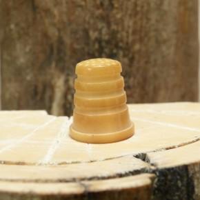 Fingerhut aus Tagua gebeizt