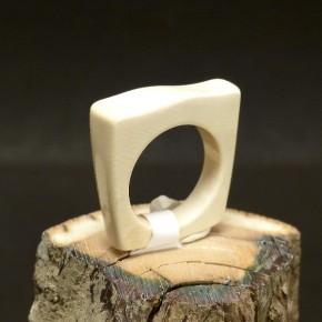 Mammut-Ring kantig W 17-17,5