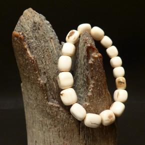 Mammut-Kugelarmband mit Rinde