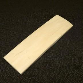 Platte mit gewölbter Oberfläche ca.98 x 29,5 x 7mm
