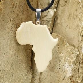 Afrika-Anhänger cremefarben
