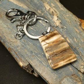 Schlüsselanhänger mit toller Rindenfärbung