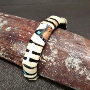 Mammut-Armband mit Türkis