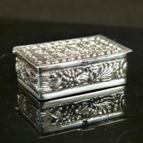 Pillendose/Zahndose Silber 925/-