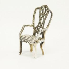 Stuhl aus Silber 925/-