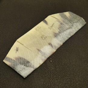 Hornplatte meliert ca. 2 mm