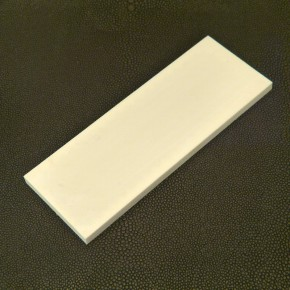 Kasein-Platte ca. 123 x 46 x 5,8mm