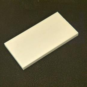 Kasein-Platte ca. 89 x 46 x 5,6mm
