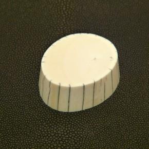 Scheibe aus der Spitze ca. 15-16mm dick