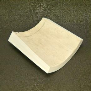 Hohlungsabschnitt ca. 9-16mm dick