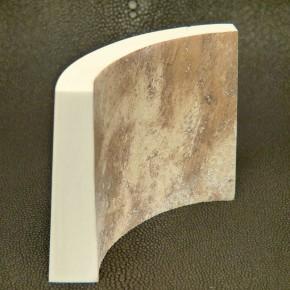 Hohlungsabschnitt ca. 8 - 16 mm dick