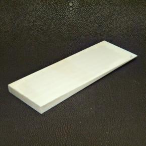 Platte konisch ca. 116 x 42 x 1-7mm