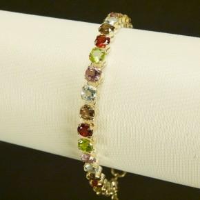 Silberarmband multicolor