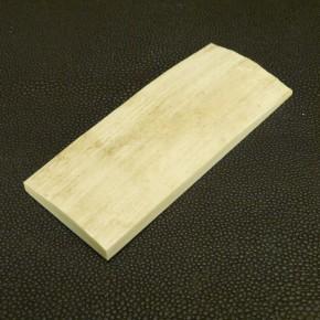 Schalenplatte ca. 86 x 36 x 7,5-5mm