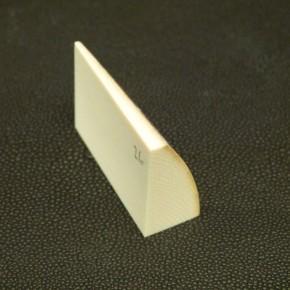 Zuschnitt mit Rinde ca. 46x31x12-15mm