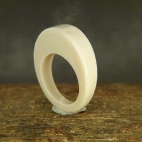 Mammut-Ring mit kantiger Kuppe W17,2