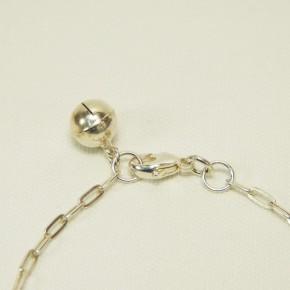 Silberarmband mit Glöckchen