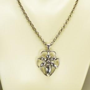 Silber-Collier im Jugendstil