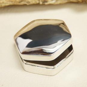 kleine Pillendose/Zahndose Silber 925/-