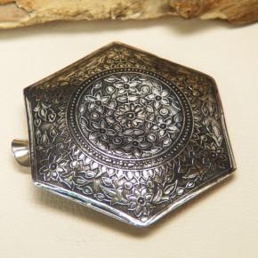 Aschenbecher verziert Silber 925/-