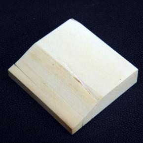 Mammut-Zuschnitt mit Riss ca. 52 x 48,5 x 12mm