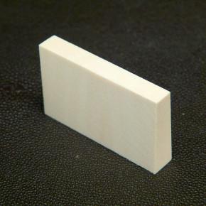Zuschnitt ca. 30,5 x 52 x 7,5 bis 9,5 mm