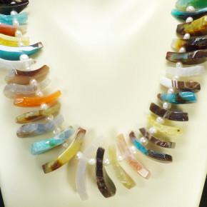Achatkette Multicolor