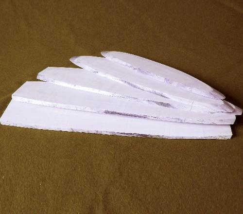 Elfenbeinplatten 5 mm
